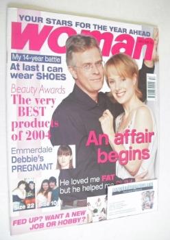Woman magazine - Philip Breverton and Sally Whittaker cover (3 January 2005)
