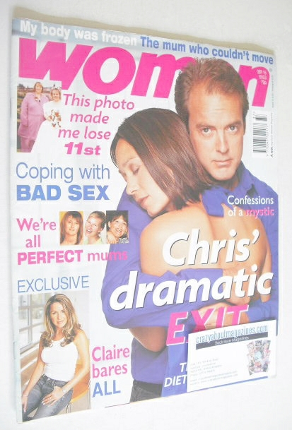<!--2003-09-15-->Woman magazine - Leah Bracknell and Peter Amory cover (15