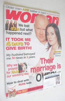 Woman magazine - Jill Halfpenny and Steven McFadden cover (24 November 2003)