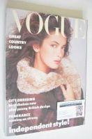 <!--1986-11-->British Vogue magazine - November 1986