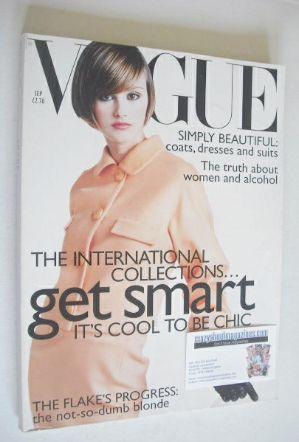 <!--1995-09-->British Vogue magazine - September 1995 - Trish Goff cover