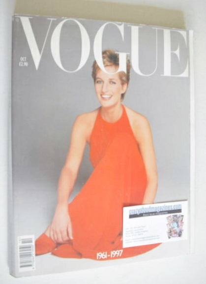<!--1997-10-->British Vogue magazine - October 1997 - Princess Diana cover