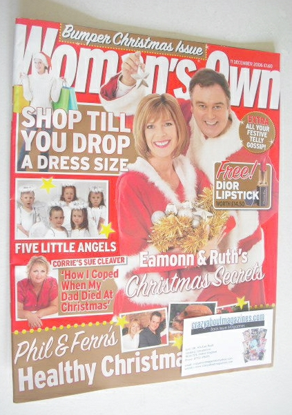 <!--2006-12-11-->Woman's Own magazine - 11 December 2006 - Eamonn Holmes an