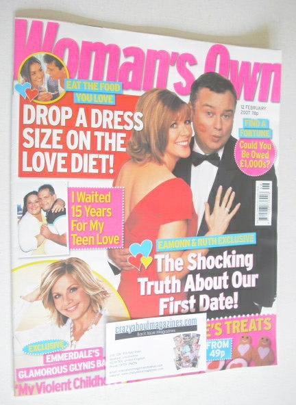 <!--2007-02-12-->Woman's Own magazine - 12 February 2007 - Eamonn Holmes an