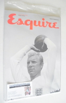Esquire magazine - Bobby Moore cover (June 2014 - Subscriber's Issue)