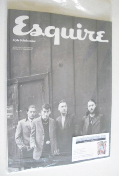 <!--2014-05-->Esquire magazine - Arctic Monkeys cover (May 2014 - Subscribe
