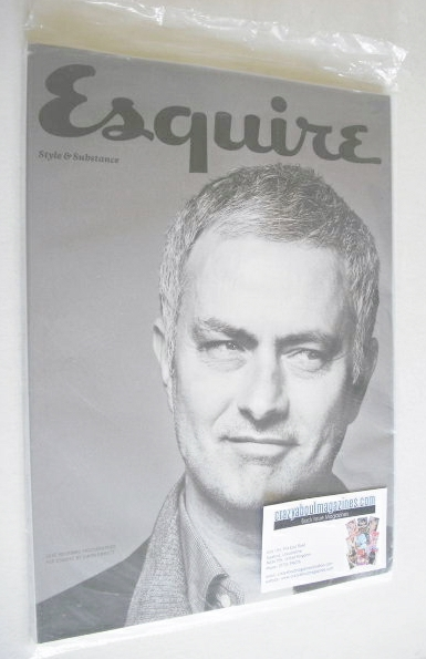 <!--2014-04-->Esquire magazine - Jose Mourinho cover (April 2014 - Subscrib