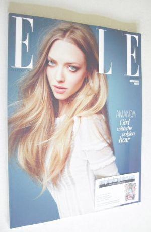 <!--2014-06-->British Elle magazine - June 2014 - Amanda Seyfried cover (Su