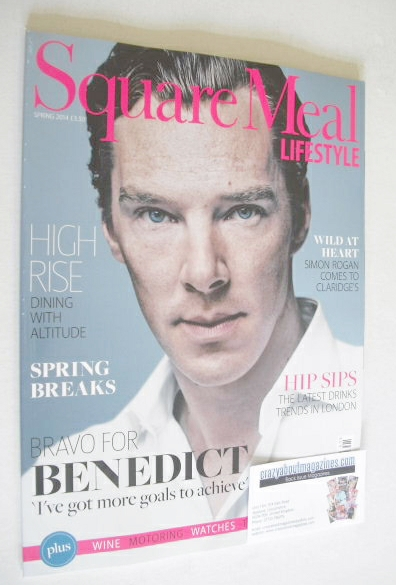 Square Meal Lifestyle magazine - Benedict Cumberbatch cover (Spring 2014)