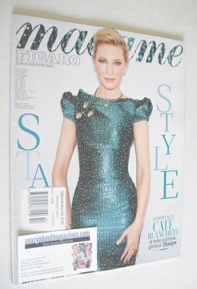 <!--2014-06-06-->Madame Figaro magazine - 6-12 June 2014 - Cate Blanchett c