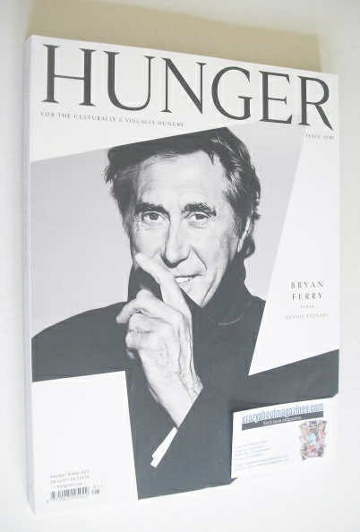 Hunger magazine - Bryan Ferry cover (Issue 5 - Autumn/Winter 2013)