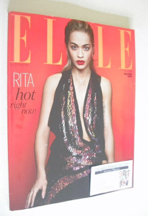 <!--2014-05-->British Elle magazine - May 2014 - Rita Ora cover (Subscriber