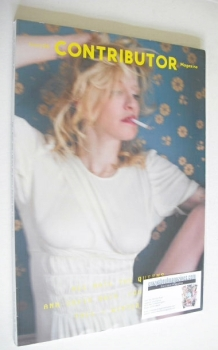 Contributor magazine - Courtney Love cover (Fall/Winter 2012)