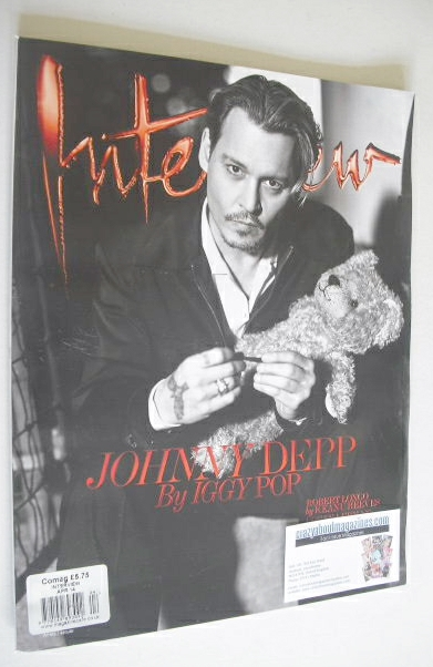 <!--2014-04-->Interview magazine - April 2014 - Johnny Depp cover