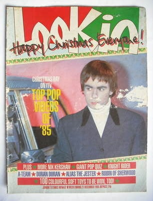 <!--1985-12-21-->Look In magazine - Nik Kershaw cover (21 December 1985)