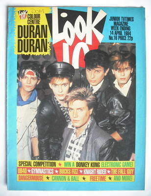 <!--1984-04-14-->Look In magazine - Duran Duran cover (14 April 1984)
