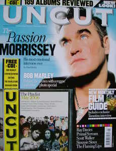 <!--2006-05-->Uncut magazine - Morrissey cover (May 2006)
