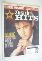 <!--1984-03-15-->Smash Hits magazine - Paul Young cover (15-28 March 1984)