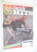 <!--1984-06-21-->Smash Hits magazine - Bronski Beat cover (21 June - 4 July 1984)