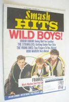 <!--1984-10-25-->Smash Hits magazine - Frankie Goes To Hollywood cover (25 October - 7 November 1984)