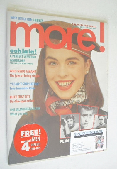 <!--1989-02-22-->More magazine (22 February - 7 March 1989)