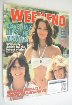Weekend magazine - Charlie's Angels cover (20-26 August 1980)