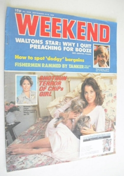 Weekend magazine - Brianne Leary cover (10-16 September 1980)