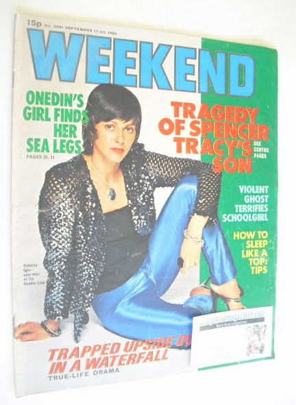 <!--1980-09-17-->Weekend magazine - Roberta Iger cover (17-23 September 198