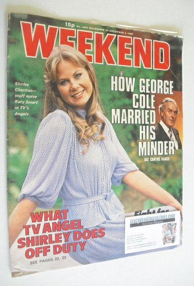 <!--1980-11-26-->Weekend magazine - Shirley Cheriton cover (26 November - 2