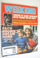 <!--1980-12-03-->Weekend magazine - Faith Brown cover (3-9 December 1980)