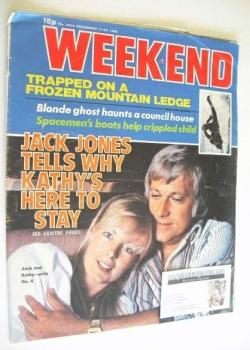 Weekend magazine - Jack Jones cover (17-23 December 1980)