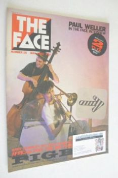 The Face magazine - Pigbag cover (May 1982 - Issue 25)
