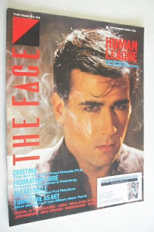 <!--1982-12-->The Face magazine - Phil Oakey cover (December 1982 - Issue 3