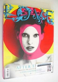 Love magazine - Issue 7 - Spring/Summer 2012 - Linda Evangelista cover