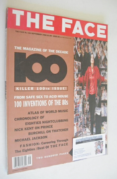 <!--1988-09-->The Face magazine - 100th Issue cover (September 1988 - Issue