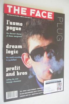 The Face magazine - Shane MacGowan cover (April 1988 - Issue 96)