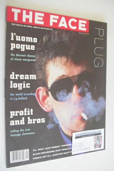 <!--1988-04-->The Face magazine - Shane MacGowan cover (April 1988 - Issue