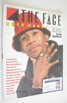 The Face magazine - L.L. Cool J cover (March 1986 - Issue 71)