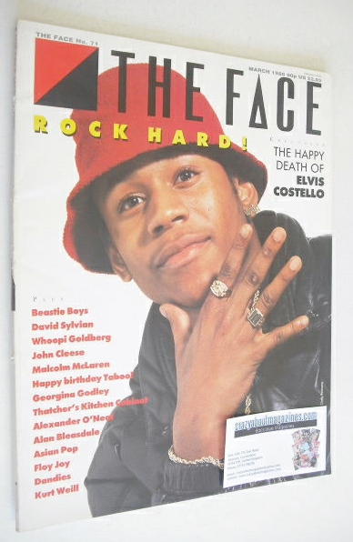 <!--1986-03-->The Face magazine - L.L. Cool J cover (March 1986 - Issue 71)
