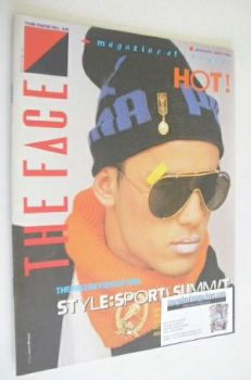 The Face magazine - Nick Kamen cover (January 1984 - Issue 45)