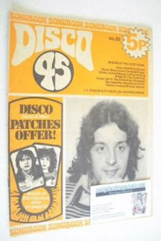 Disco 45 magazine - No 25 - November 1972 - Junior Campbell cover