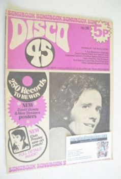 Disco 45 magazine - No 26 - December 1972 - Gilbert O'Sullivan cover