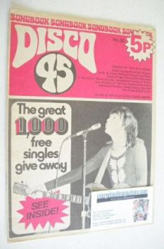 Disco 45 magazine - No 30 - April 1973 - David Cassidy cover