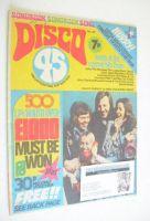 <!--1974-05-->Disco 45 magazine - No 43 - May 1974 - Abba cover