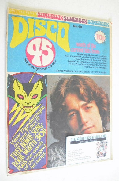 <!--1974-10-->Disco 45 magazine - No 48 - October 1974
