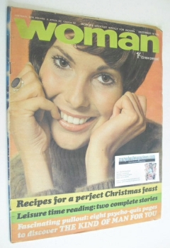 Woman magazine (19 December 1970)