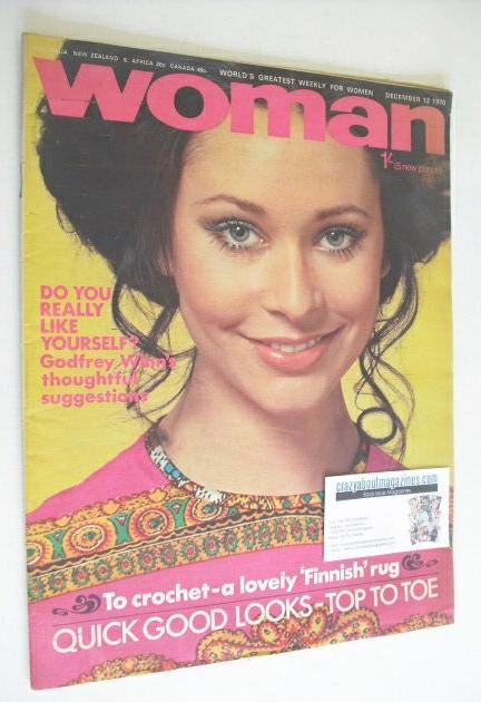 <!--1970-12-19-->Woman magazine (12 December 1970)