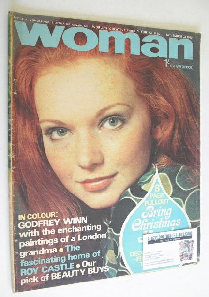 <!--1970-11-28-->Woman magazine (28 November 1970)