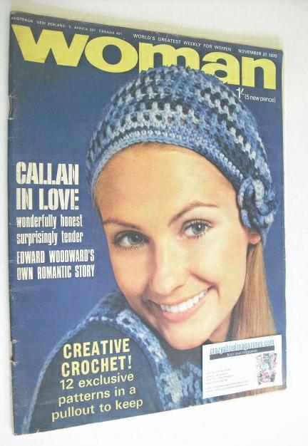 <!--1970-11-21-->Woman magazine (21 November 1970)