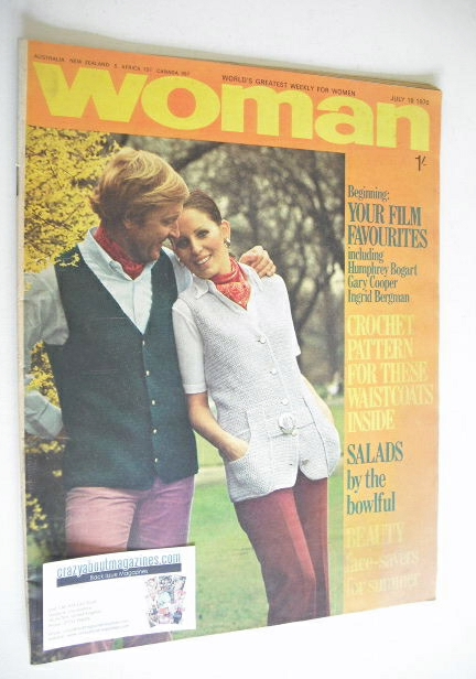 <!--1970-07-18-->Woman magazine (18 July 1970)